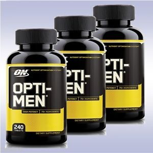 OPTIMUM NUTRITION OPTI-MEN-240 EA
