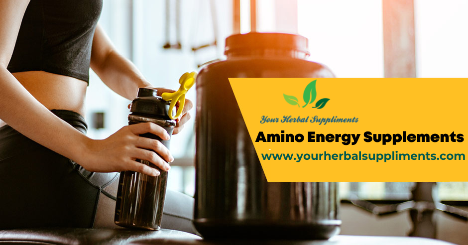 A,ino energy supplements